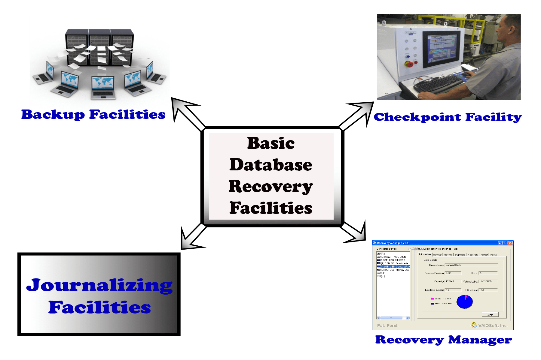 Database Recovery | Basic Database Recovery Facilities