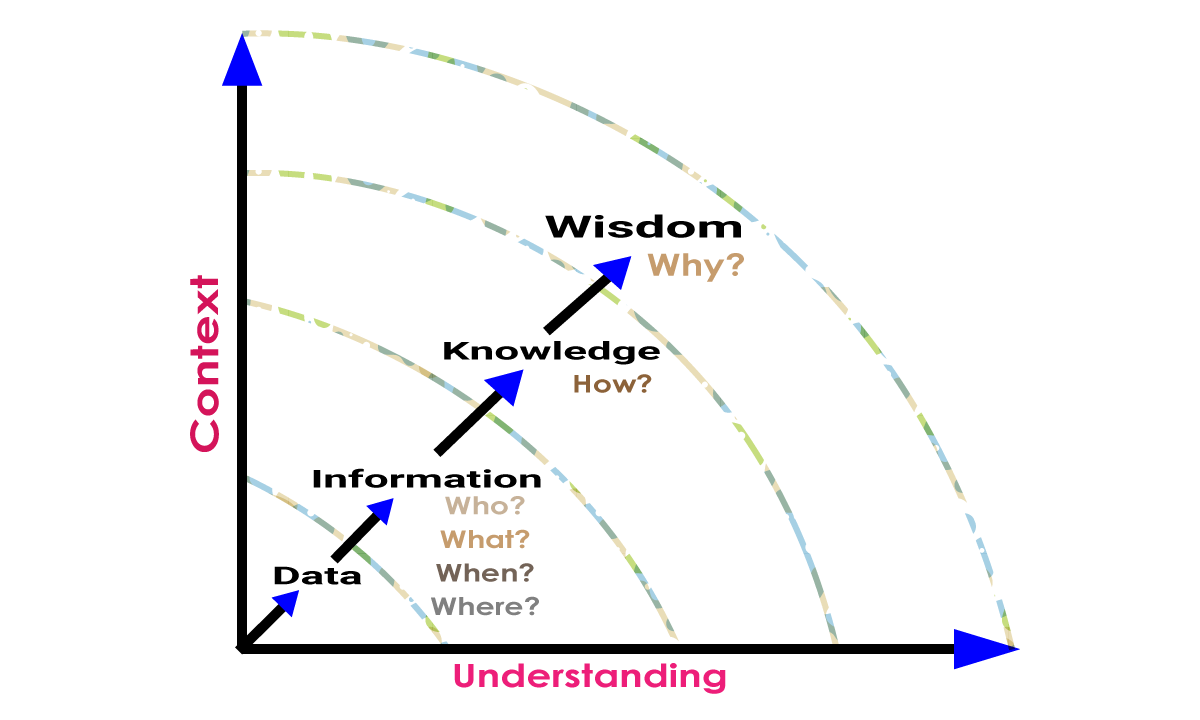 DIKW Continuum | Difference Between Information and Knowledge | Difference Between Knowledge and Wisdom