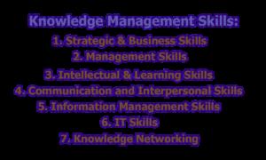 Knowledge Management Skills 300x180 - Knowledge Management Skills & Competencies
