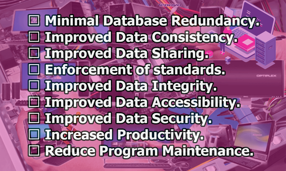 Advantages of Database Approach - Advantages of Database Approach