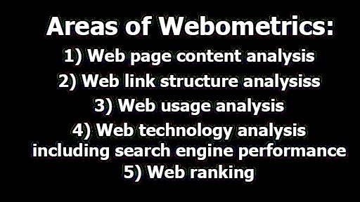 Webometrics | objectives, importance, Scope, and Areas of Webometrics