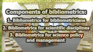 Components of bibliometrics 300x169 - Components of bibliometrics