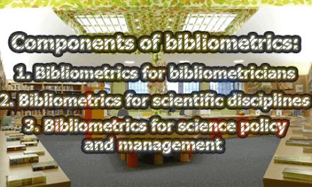 Components of bibliometrics