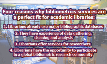 Four reasons why bibliometrics services are a perfect fit for academic libraries